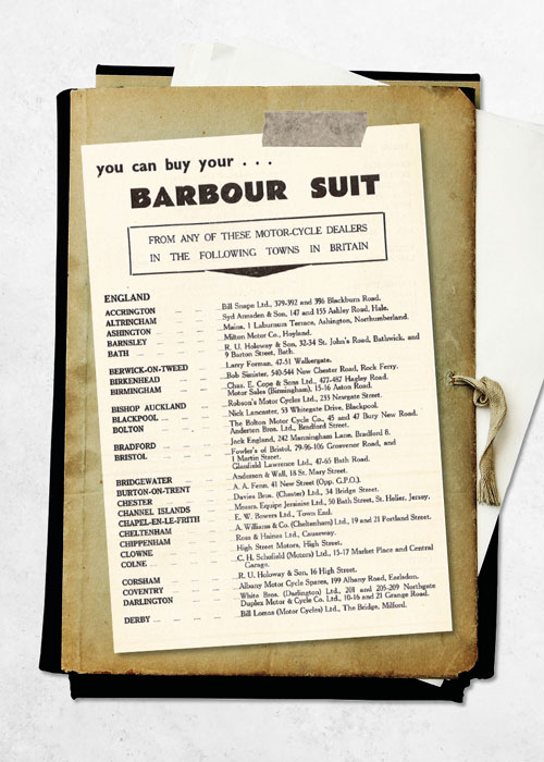 Barbour International Archive Image