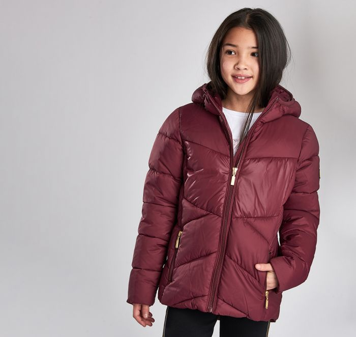 B.Intl Girls Lydden Quilted Jacket