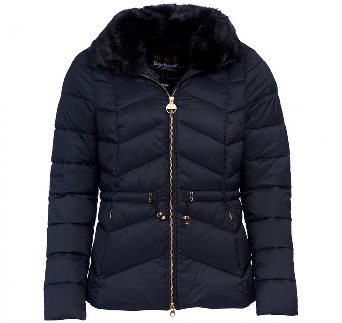 B.Intl Halfback Quilted Jacket