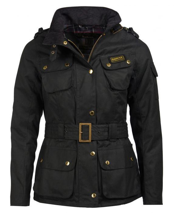 B.Intl Ladies International Waxed Jacket
