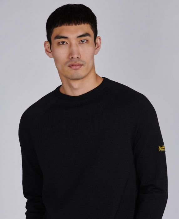 B.Intl Cotton Crew Neck Sweater