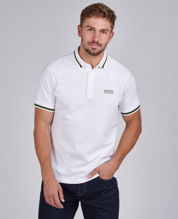 B.Intl Grid Tipped Polo Shirt