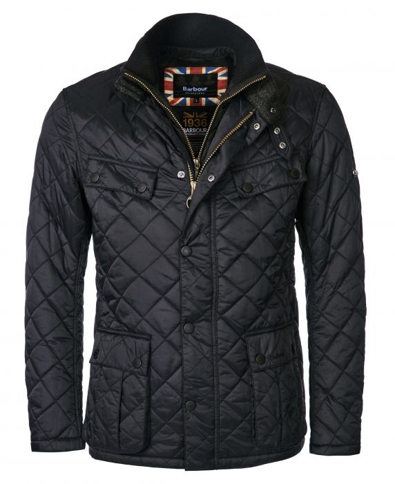 B.Intl Windshield Tailored Fit Quilted Jacket