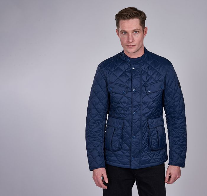 B.Intl Coloured Ariel Quilted Jacket