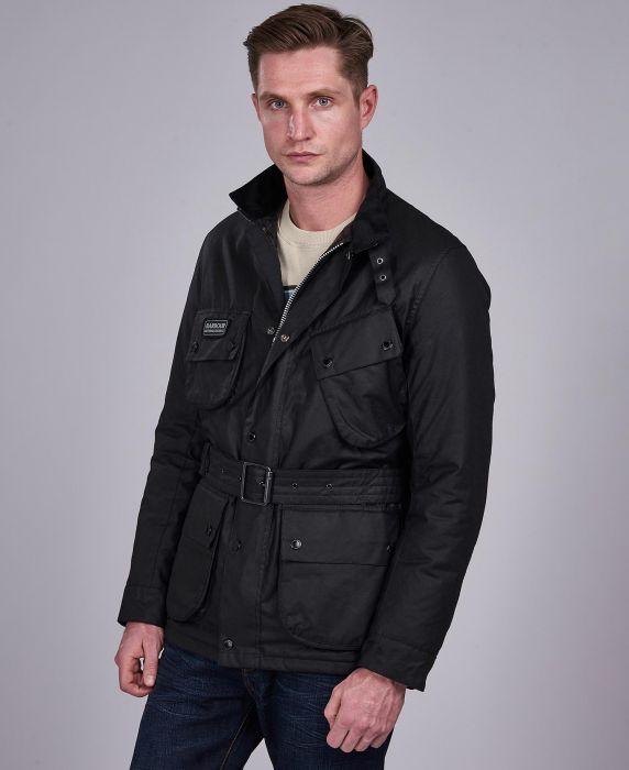B.Intl SL International Waxed Jacket
