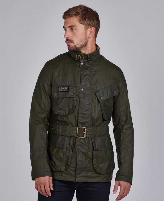 B.Intl Lightweight SL International Waxed Cotton Jacket