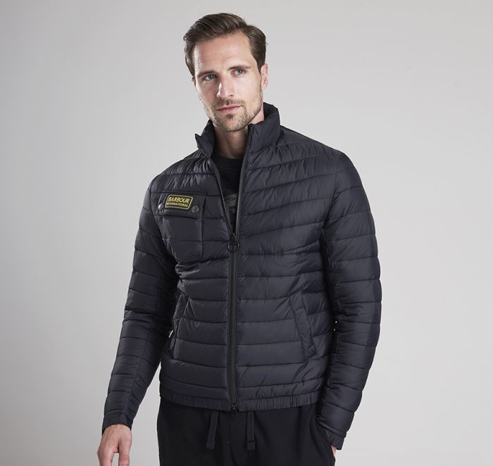 B.Intl Chain Baffle Quilted Jacket