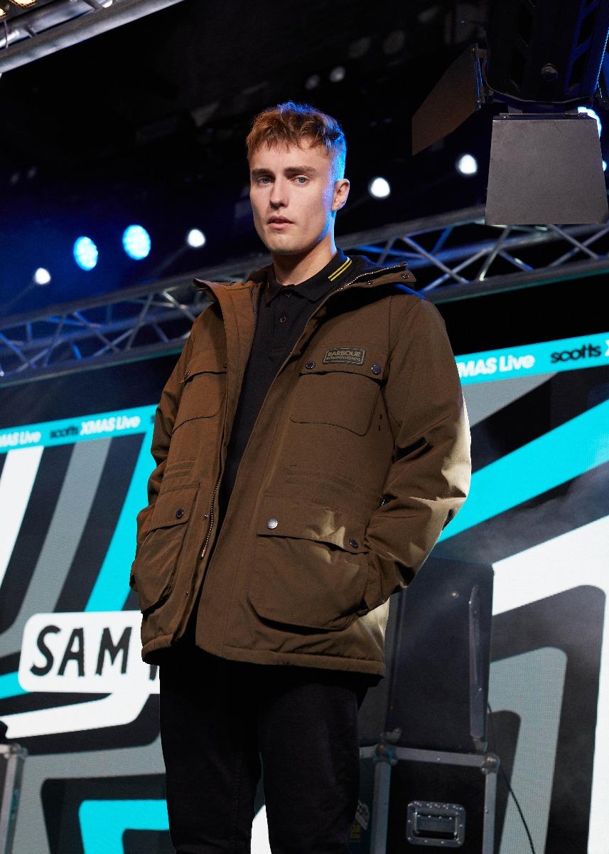 Sam Fender in B.Intl Endo Jacket