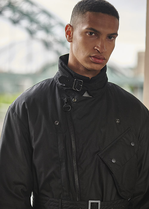 AW21 Barbour International x Engineered Garments collection