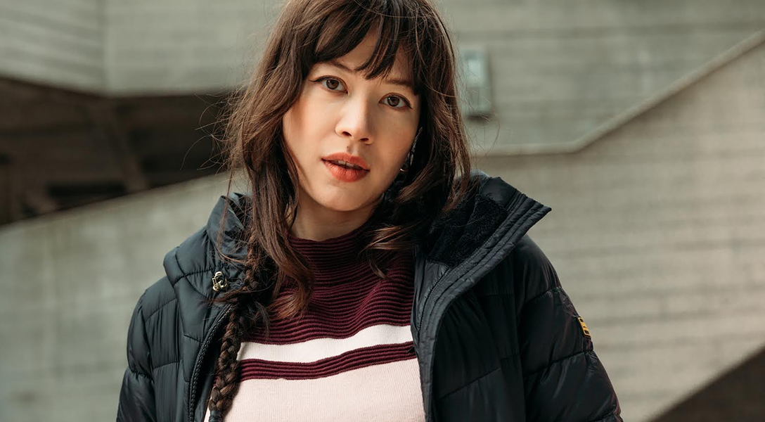 Charlotte Mei styles the Barbour International AW21 Moto Originals Collection