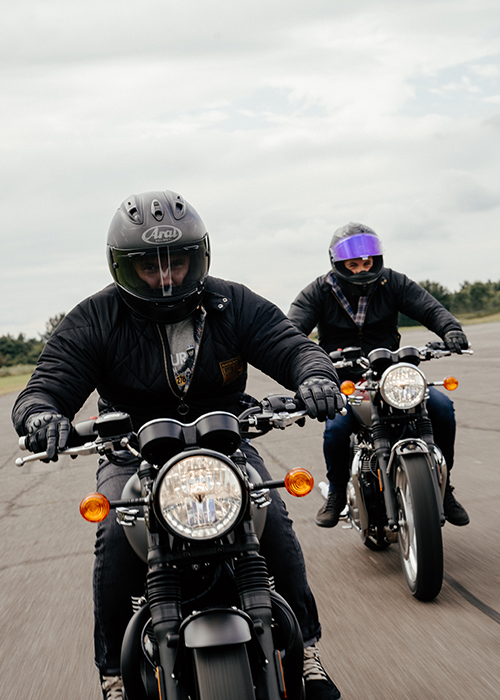 Kieran and Rick style the Barbour International AW21 Steve McQueen Men's Collection