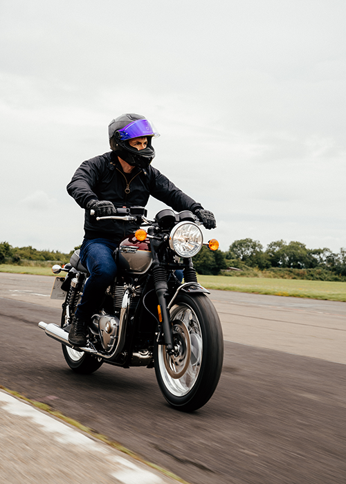 Rick styles the Barbour International AW21 Steve McQueen Men's Collection