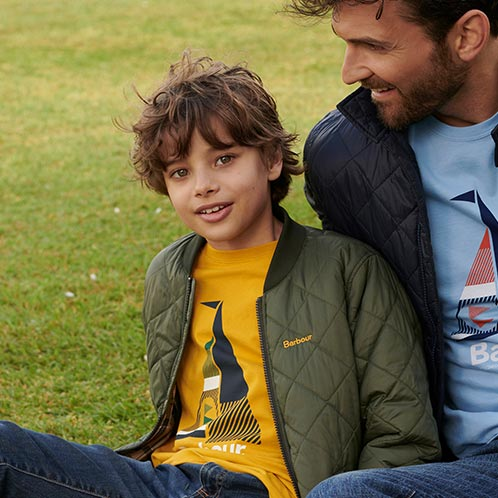 Background image for Discover Barbour Childrenswear