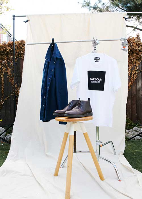 The Barbour International AW21 Preview Men's collection