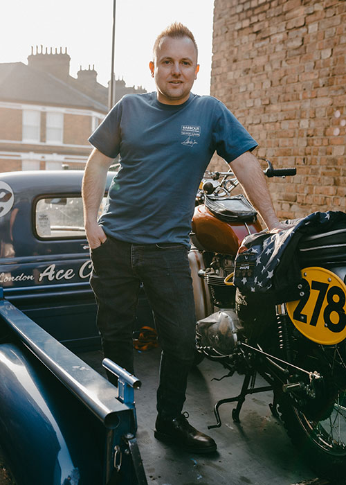 Kev from Ace Classics styles the SS21 Steve McQueen collection