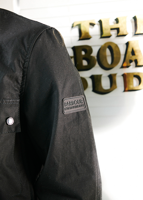 Barbour International AW21 Preview men's collection