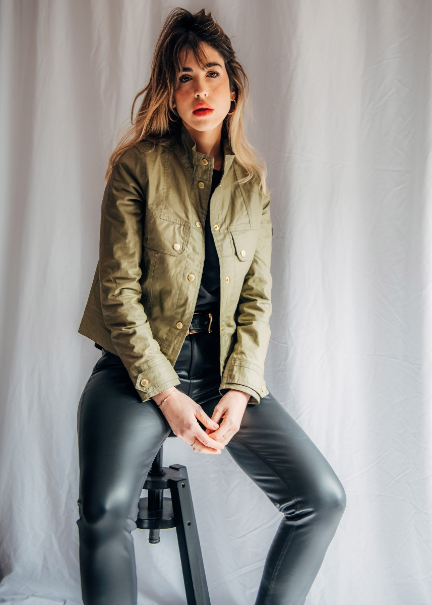 Beatrice styles the Barbour International SS21 Women's Collection