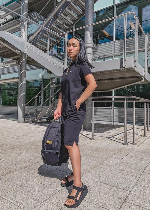 Nun wears the Pre AW21 womenswear collection