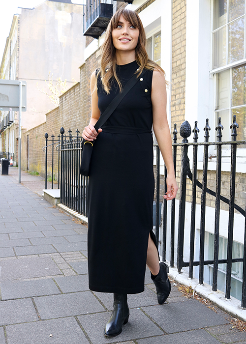 Tara Griffin wears the Pre AW21 womenswear collection