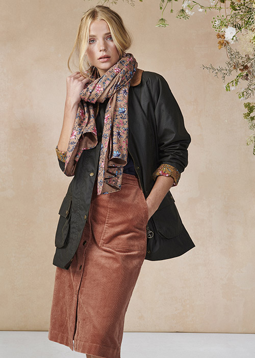 Barbour X Laura Ashley AW20 collection