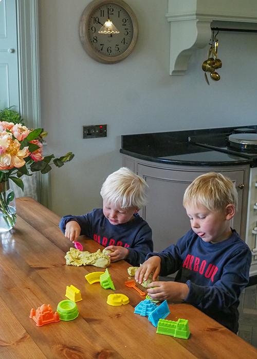 laura ann's home made play dough