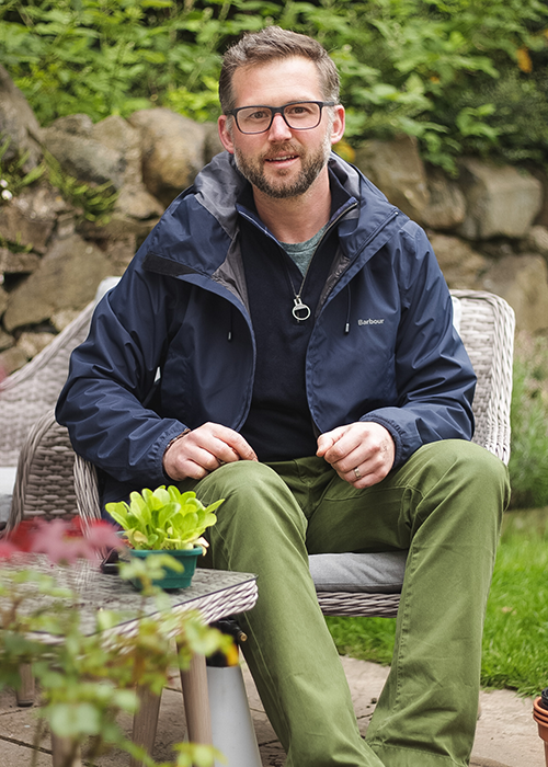 Richard Chivers wears Barbour SS20