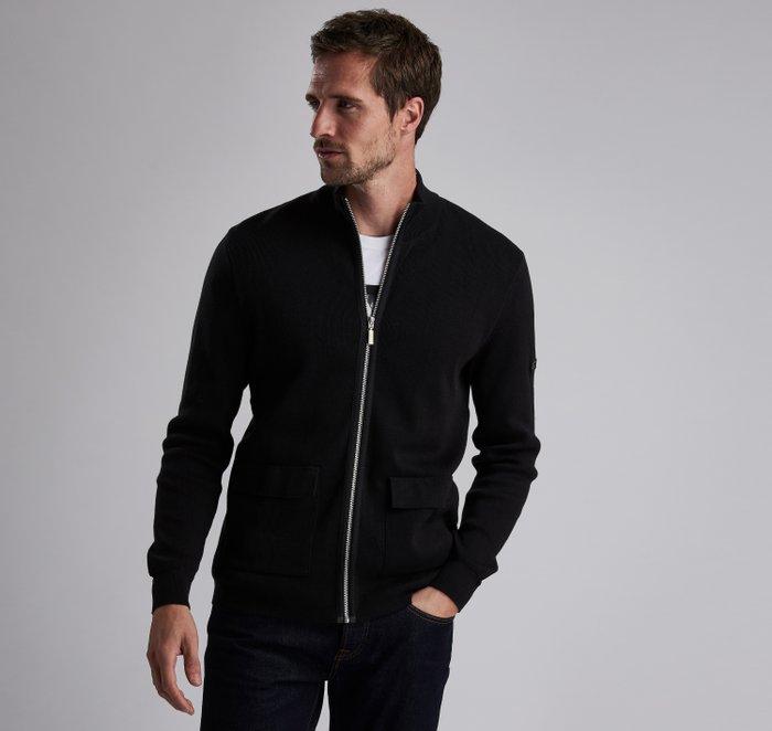 B.Intl Podium Zip Through Sweater