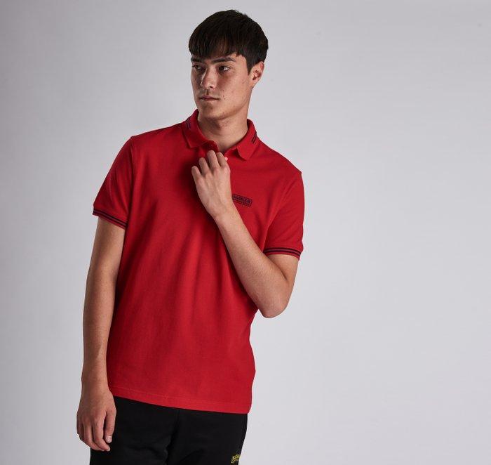 B.Intl Essential Tipped Polo Shirt