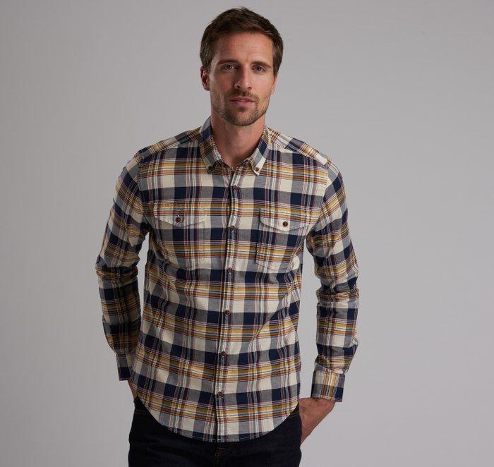 B.Intl Steve McQueen™ King Check Slim Fit Shirt