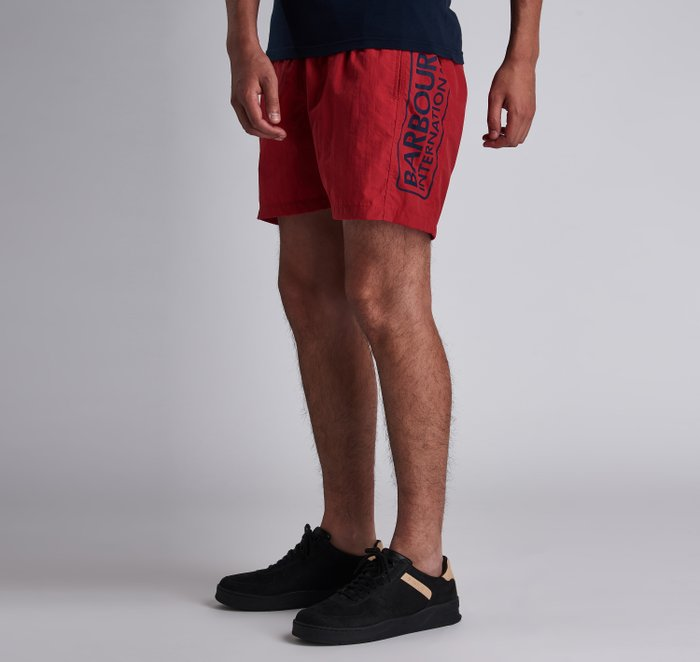 B.Intl Large Logo Swim Shorts