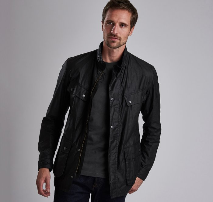 B.Intl Lightweight Duke Waxed Cotton Jacket