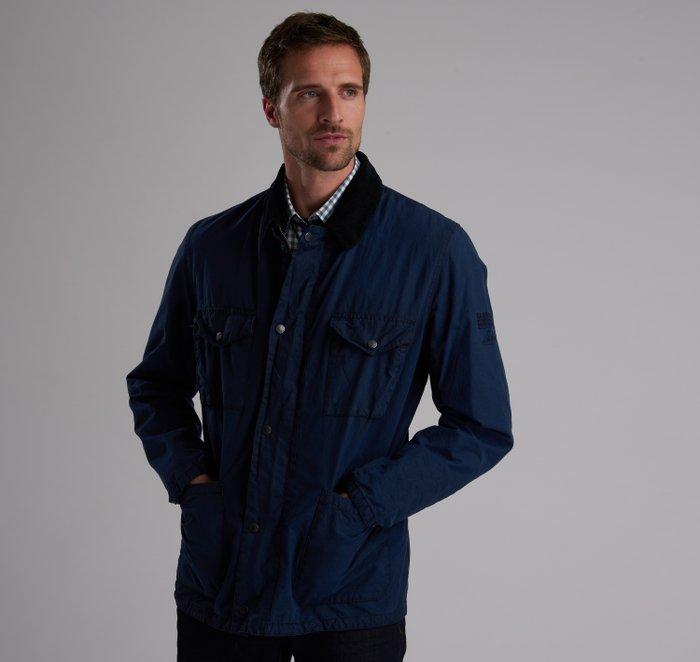 B.Intl Steve McQueen™ Lawtell Waxed Cotton Jacket