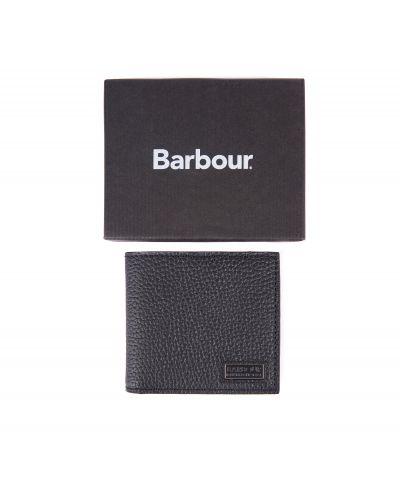 B.Intl Grained Leather Billfold Wallet