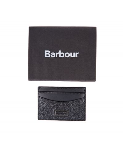 B.Intl Leather Card Holder