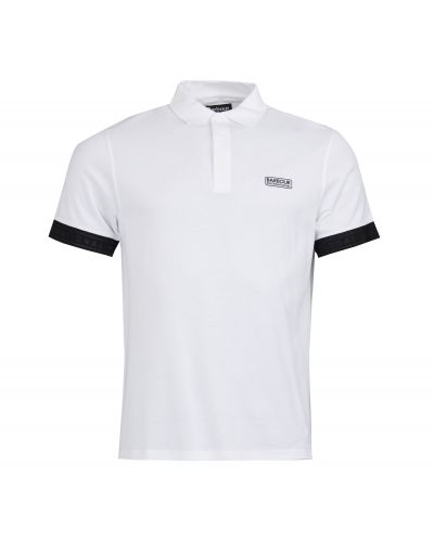 B.Intl Rake Mercerised Polo Shirt