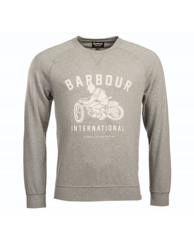 B.Intl Burn Crewneck Sweater