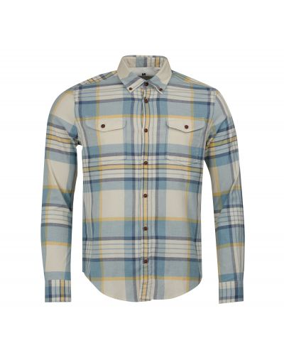 B.Intl Steve McQueen™ King Check Slim Fit Shirt