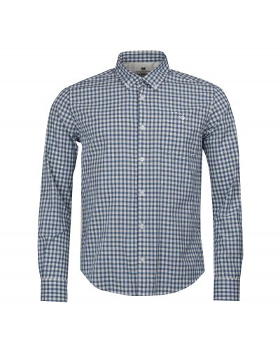 B.Intl Steve McQueen™ Gingham Slim Fit Shirt