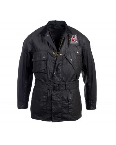Barbour International Joshua Waxed Cotton Jacket