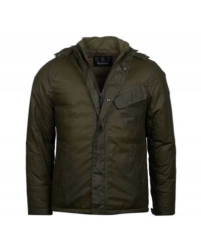 B.Intl Triple Waxed Cotton Jacket