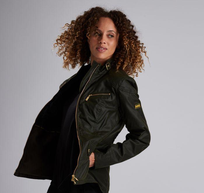 B.Intl Ivy Waxed Cotton Jacket