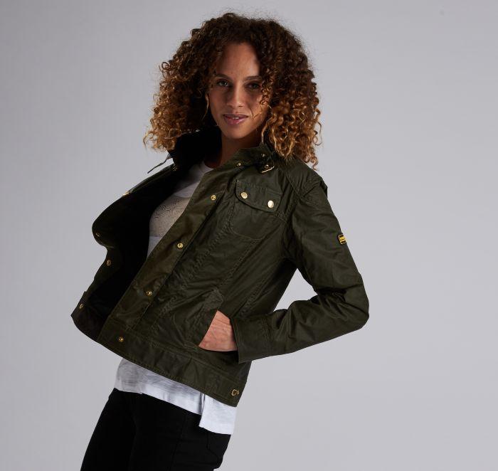 B.Intl Pitch Waxed Cotton Jacket
