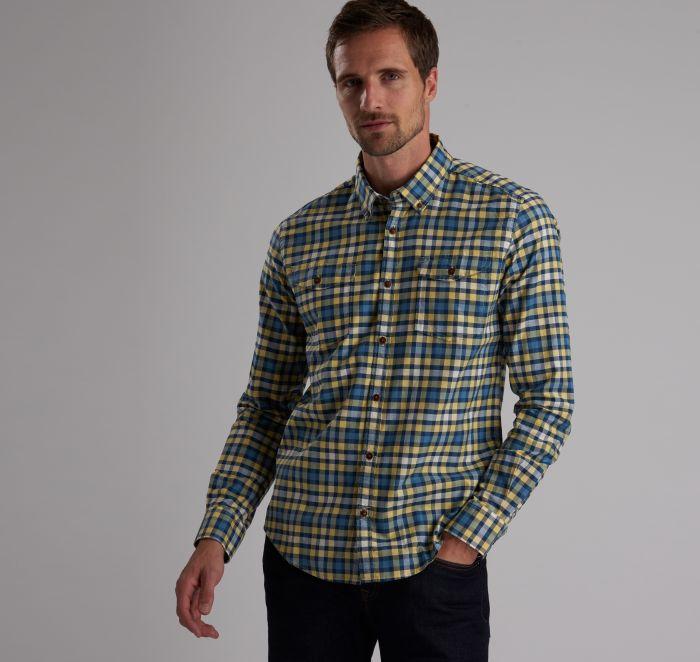 B.Intl Steve McQueen™ Output Check Slim Fit Shirt