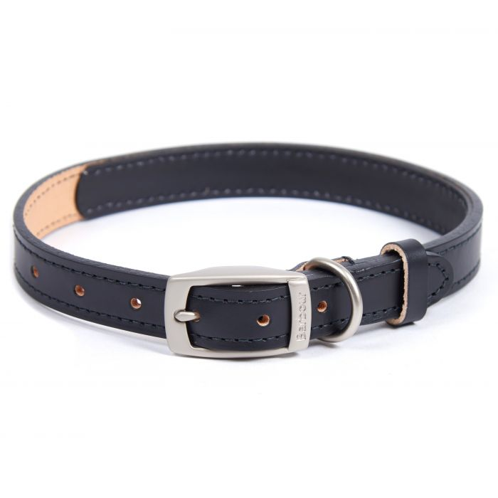 B.Intl Leather Dog Collar