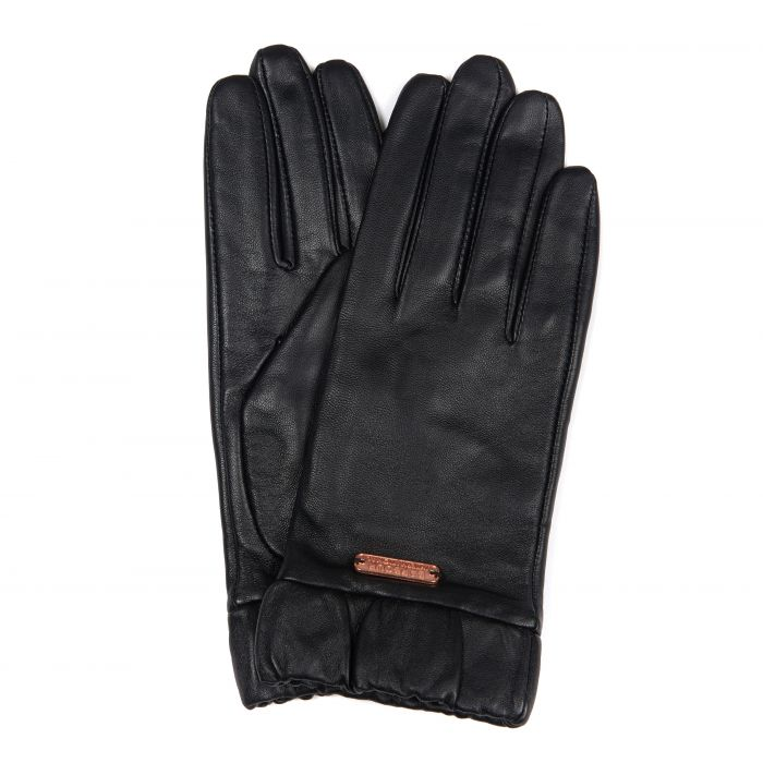 B.Intl Latch Leather Gloves