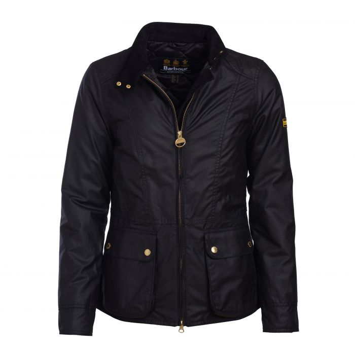 B.Intl Blackflag Waxed Cotton Jacket