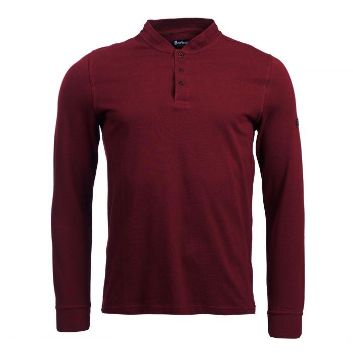 B.Intl Jump Long Sleeve Polo Shirt