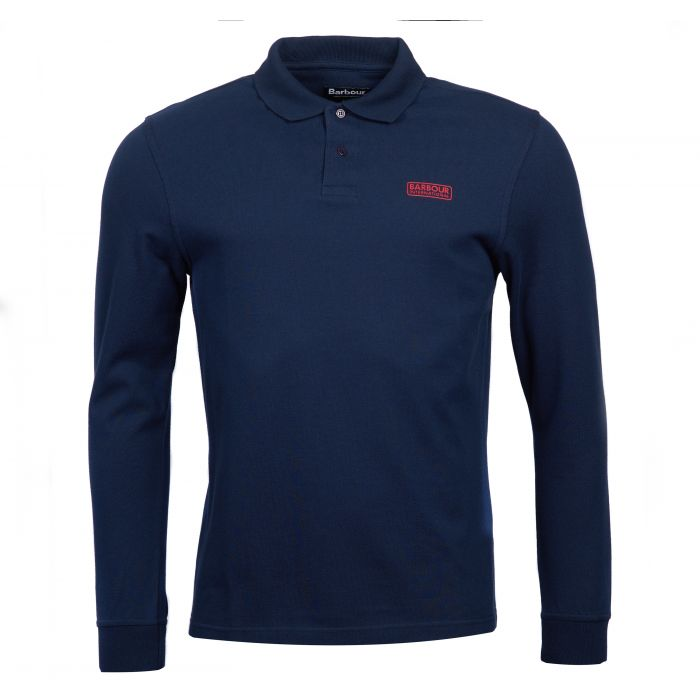 B.Intl International Long Sleeved Polo Shirt