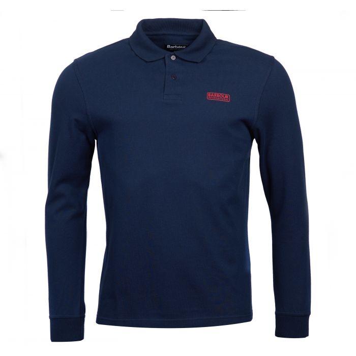 B.Intl Long Sleeved Polo Shirt