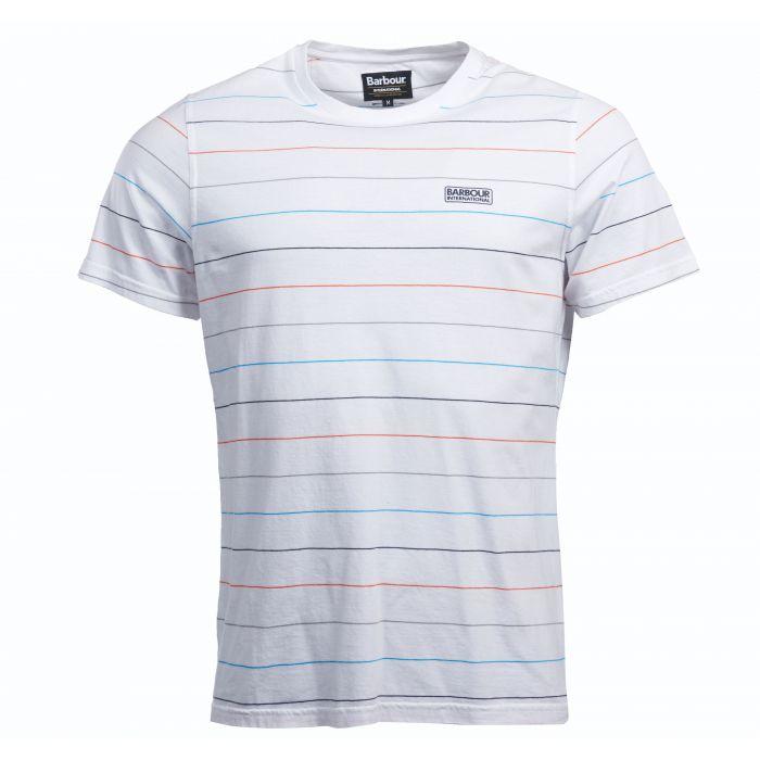 B.Intl Disc Stripe T-Shirt